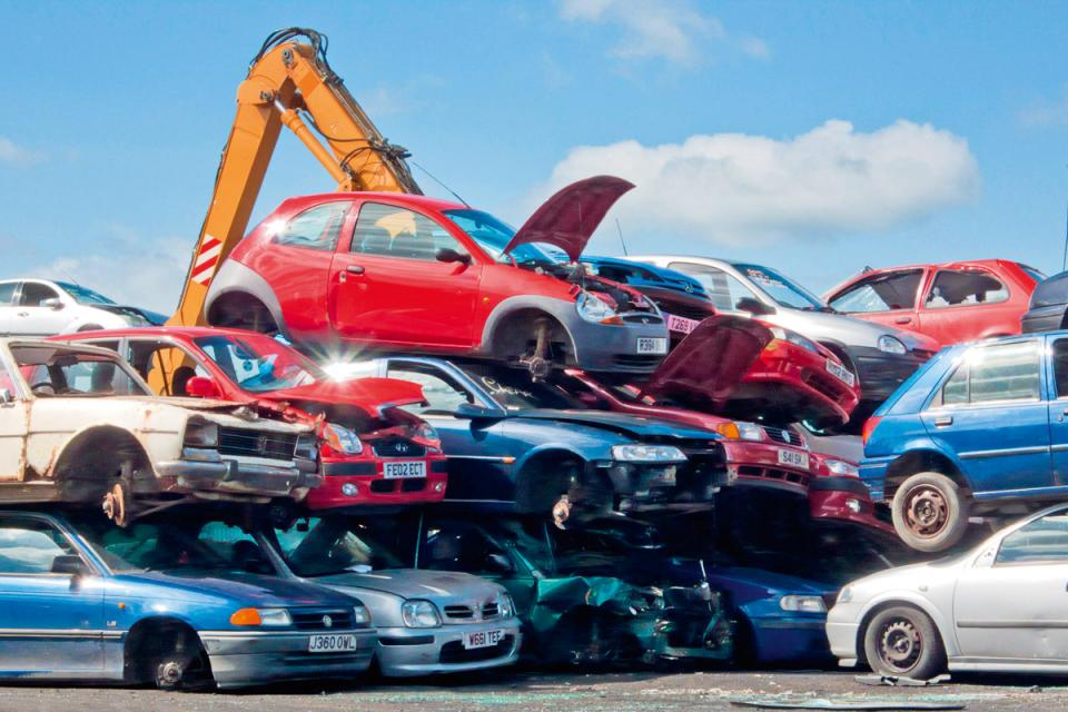 car scrap yard stoystown