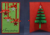handmade card or tree decoration